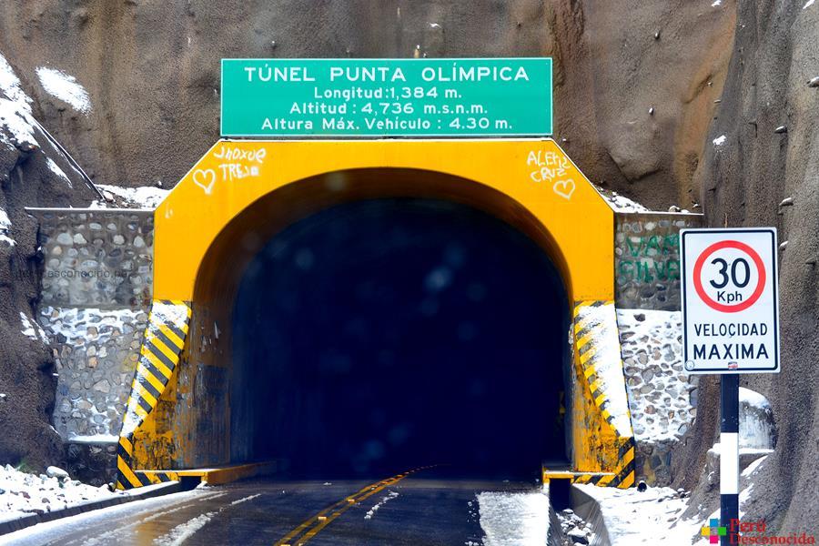 Túnel de la Punta Olímpica