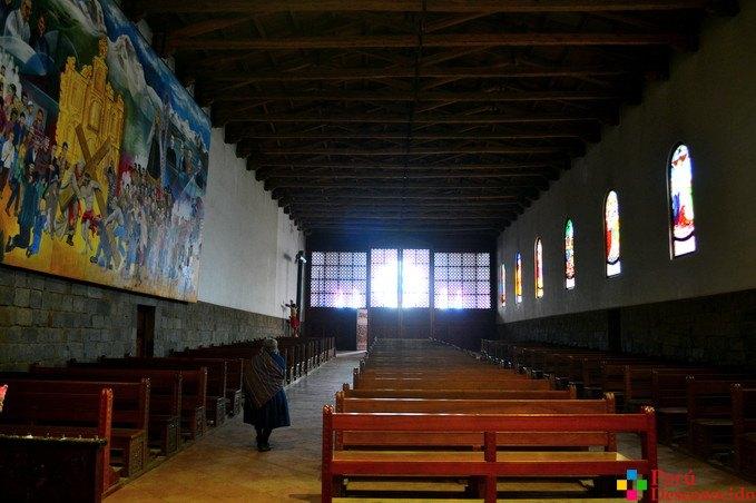 Salón de la Iglesia de Chacas
