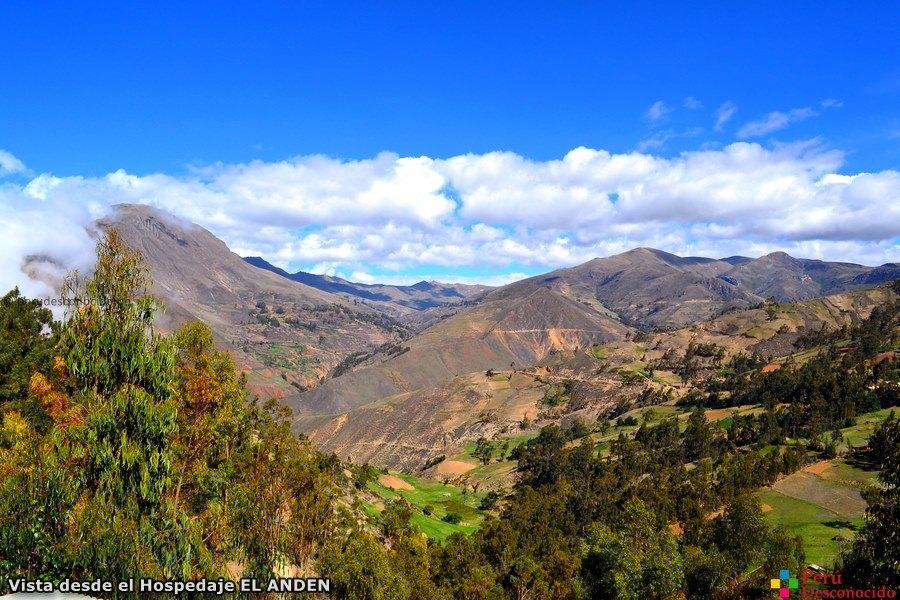 Vista desde el Hospedaje el Anden-Aija
