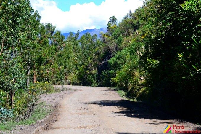 Ruta Huaraz-San Luis-Ancash