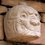 Cabeza Clava en Chavín de Huantar