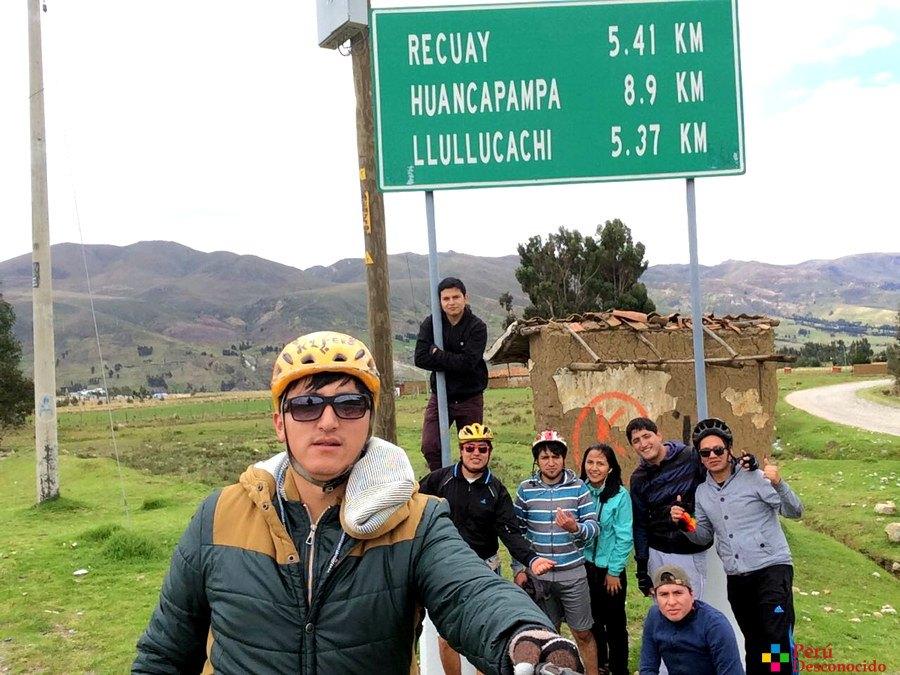 Ciclismo de aventura Ancash-Desvío Buenos aires-Recuay