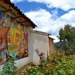 Murales del Cementerio de Huancall-Aija.