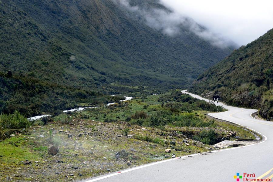 Ruta Huaraz-Chacas-Ulta