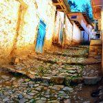 Calles y plaza de Aija