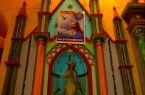 Altar en la iglesia Matriz de Aija