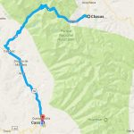 Ruta Huaraz-Chacas