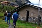 Camino a los Boungalows de Huachucocha