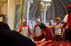 Escenificación por Semana Santa en San Luis