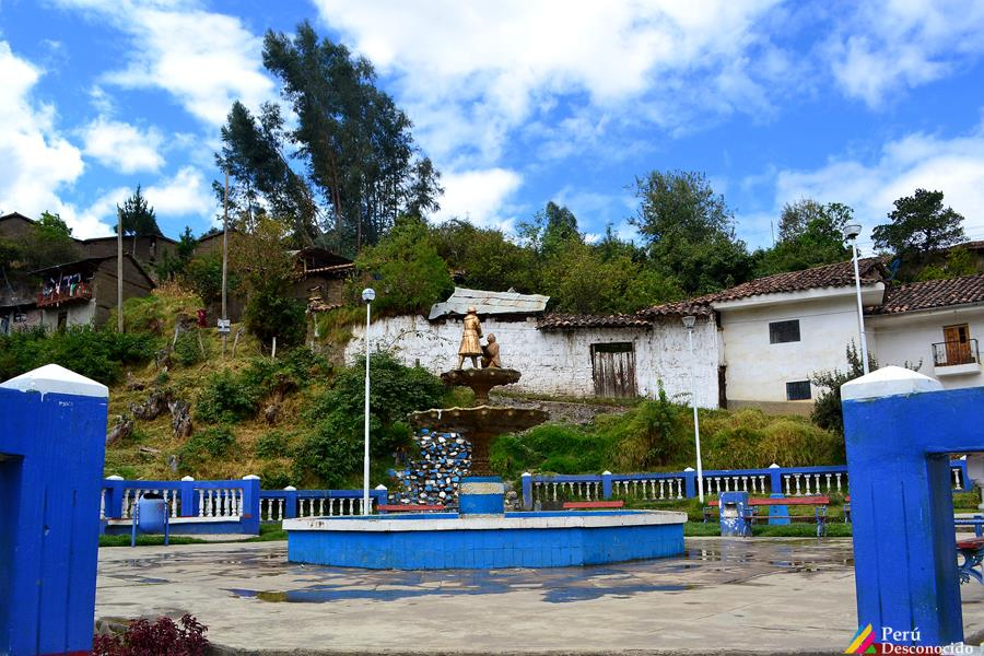 Plazuela de Cucayacu en Pomabamba