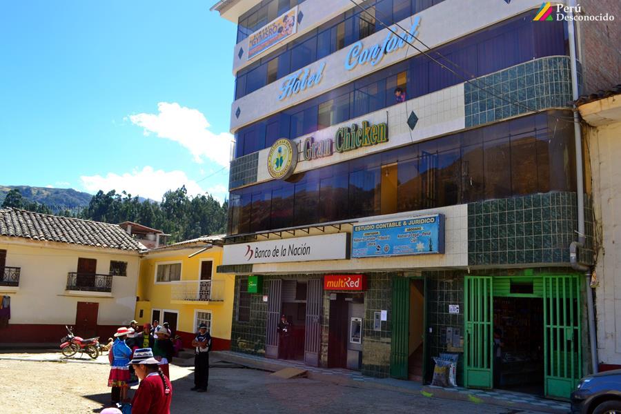 Control del Parque Nacional del Huascarán en la Quebrada de Ulta