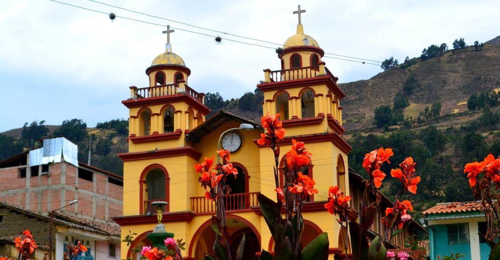 Iglesia del Barrio de Convento. en Pomabamba